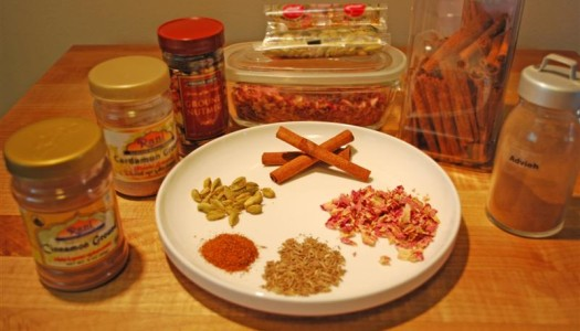 Advieh – a blend of spices for Persian Cooking