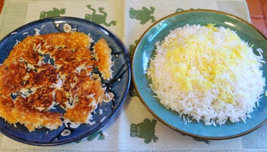 Persian Rice Cooking Method