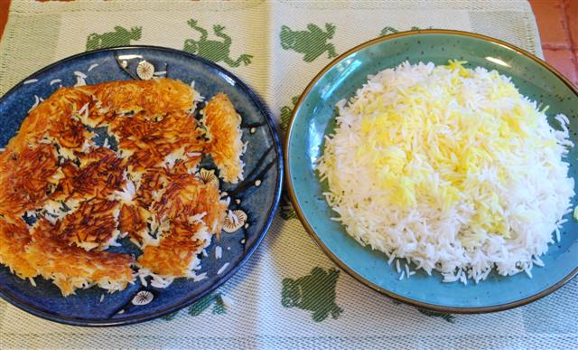 Persian Rice Cooking Method - My Persian Kitchen