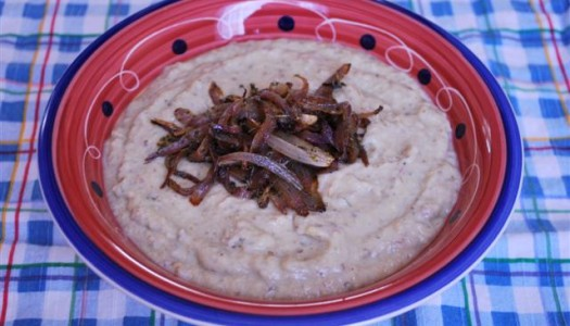 Borani Bademjan ~ Persian Yogurt with Eggplant Dip