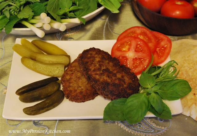 Kotlet persian cutlet my persian kitchen kotlet persian cutlet forumfinder Gallery