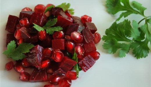 Beet & Pomegranate Salad