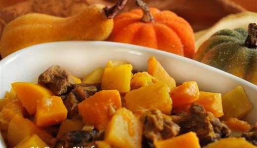 Butternut Squash & Prune Khoresht