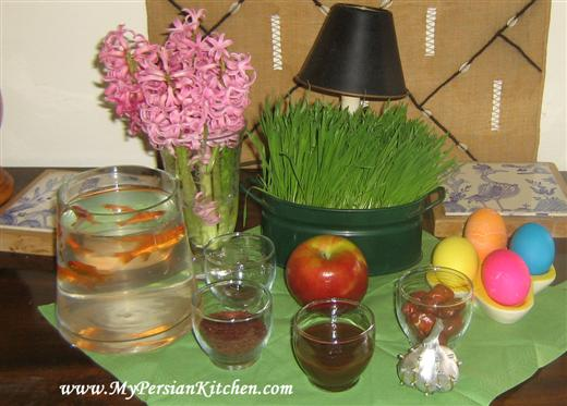 Sofreh Haft Seen The 7 Quot S Quot Of Norouz Spread My Persian