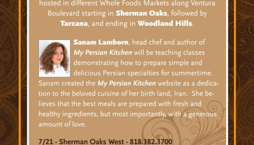 Persian Cooking Classes in Los Angeles, CA