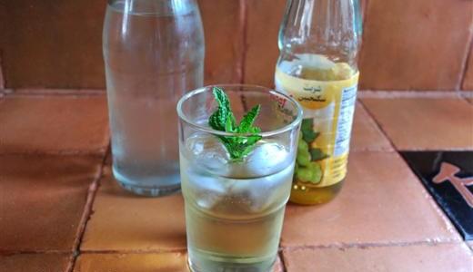 Sharbateh Sekanjebin ~ Mint Syrup Drink