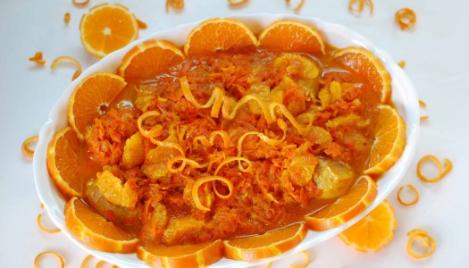Khoresht Narengee ~ Persian Tangerine Stew