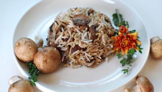Gharch Polow ~ Persian Mushroom Rice