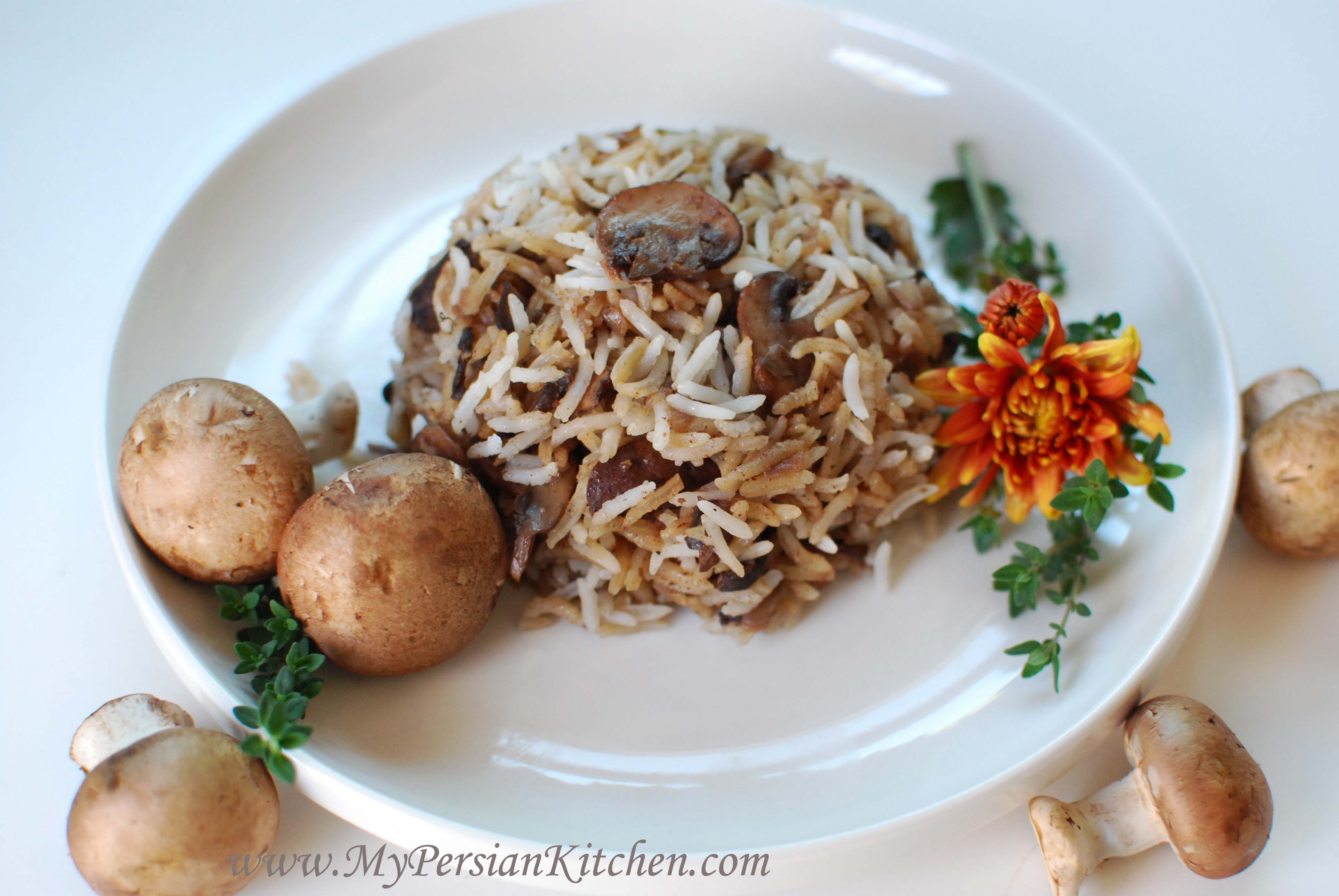 Rice with Mushrooms Recipe | Taste of Home