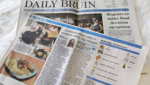 My Persian Kitchen Featured in UCLA's Daily Bruin