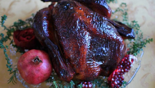 Pomegranate & Port Glazed Turkey