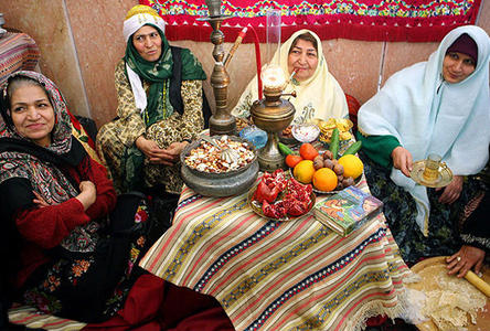 The customs and traditions of a japanese and iranian family