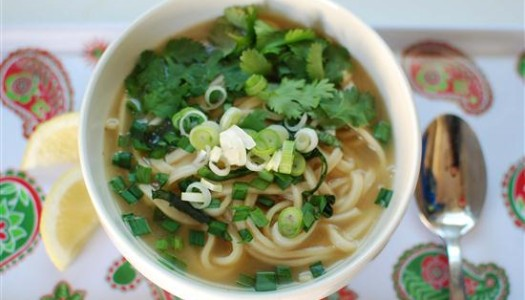 Persian Pho with Lamb Broth