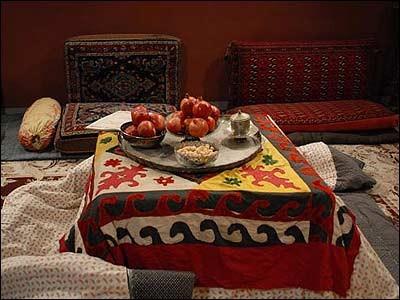 Shabeh Yalda & Korsi