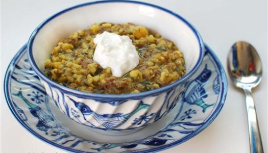Asheh Jo ~ Hearty Persian Barley Soup