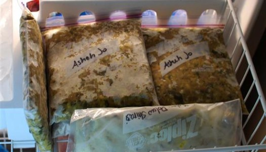 Freezing Meals for Later Use
