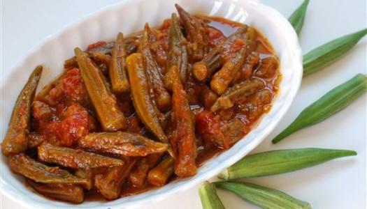 Khoresht Bamieh ~ Persian Okra Stew