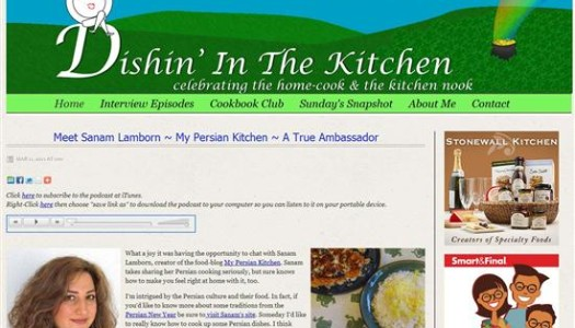 Interview by Mac from Dishin' In The Kitchen