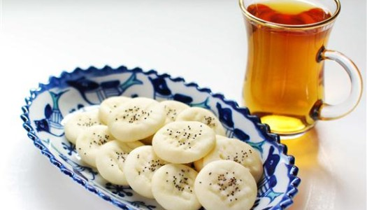 Naan Berenji ~ Persian Rice Cookies