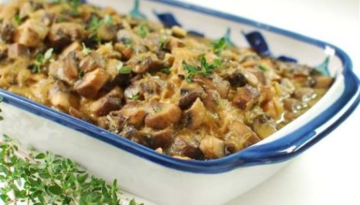Khoresht Gharch ~ Persian Mushroom Stew