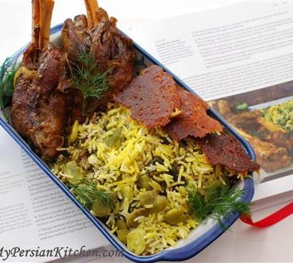 Baghali Polow & Lamb Shank1 (Custom)