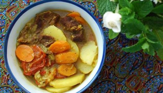Tass Kabob ~ Persian Meat and Potato Stew