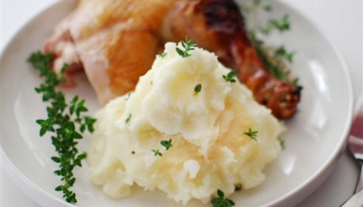 Purée ~ Mashed Potatoes