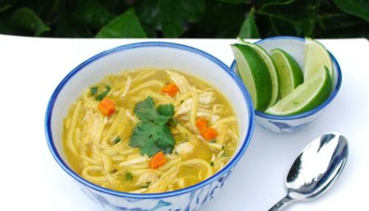 Persian Chicken Noodle Soup