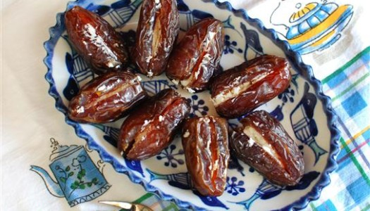 Date Stuffed With Feta Cheese