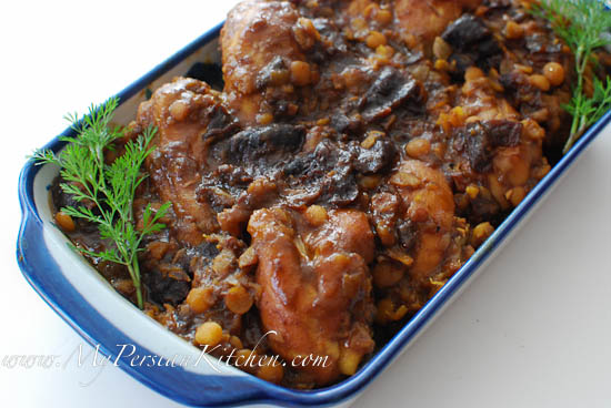 Khoresht aloo persian prune stew my persian kitchen i forumfinder Image collections