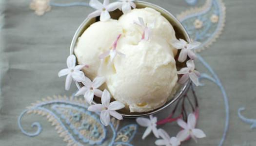 Bastani-ye Goleh Yas ~ Jasmine Ice Cream or Gelato