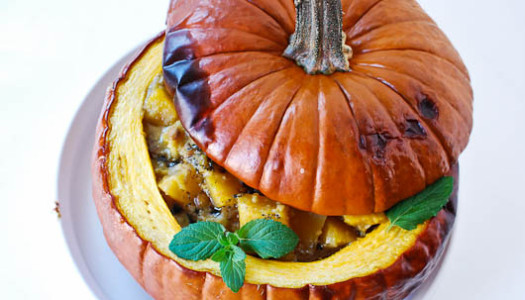 How to Make a Pumpkin Bowl