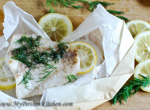 Fish in Parchment Paper 1