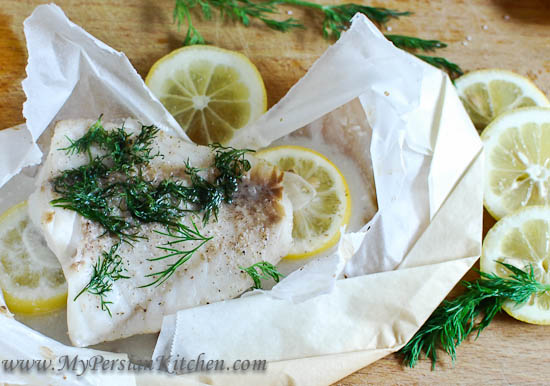 Parchment Paper Fish Video