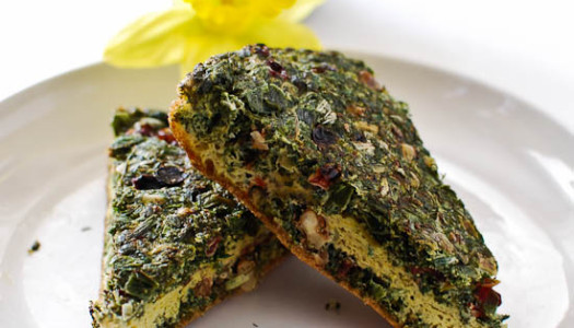 Sabzi Kuku with Dried Herbs