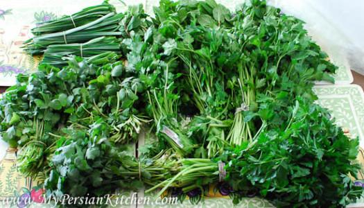 Frozen Persian Herbs