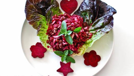 Salad-eh Adas ~ Lentil Salad