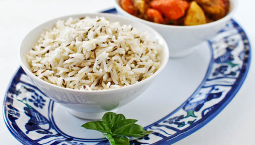 Zeereh Polow ~ Persian Rice With Cumin Seeds
