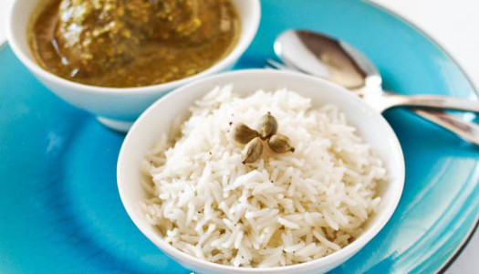 Hel Polow ~ Cardamom Rice