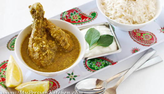 Khoresht-eh Curry ~ Persian Curry Stew