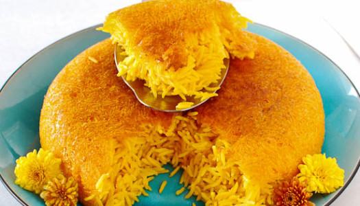 Polow Zaferani ~ Saffron Rice