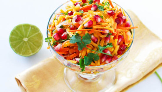 Butternut Squash & Pomegranate Salad