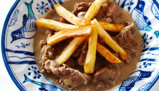 Beef Stroganoff Persian Style
