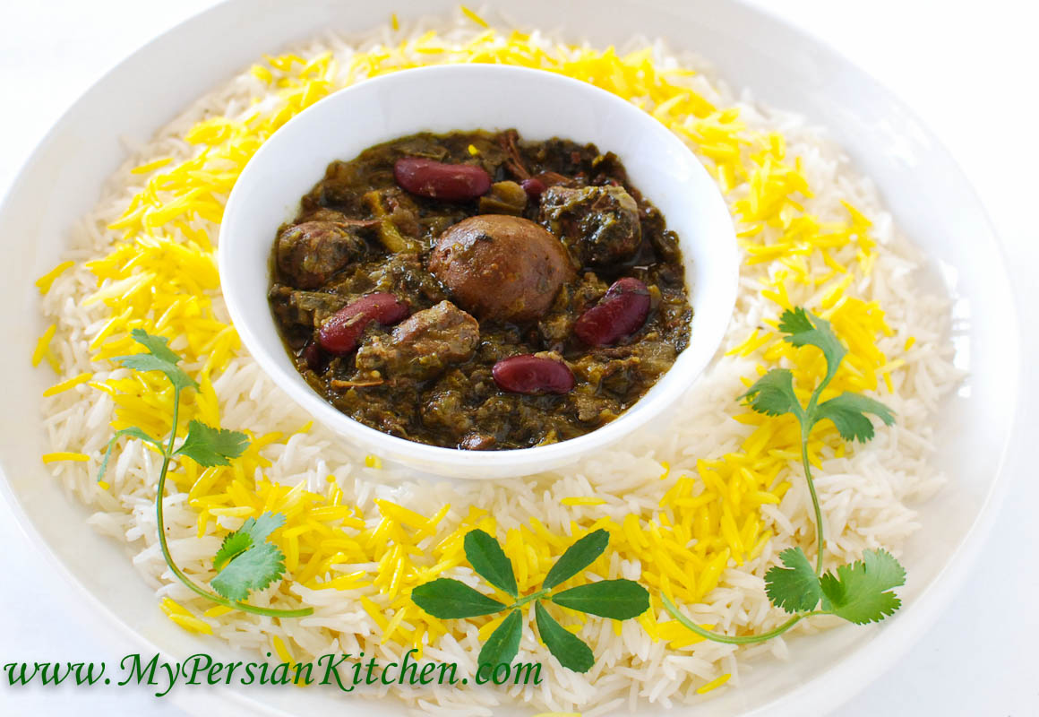 Slow cooker ghormeh sabzi persian herb stew my persian kitchen forumfinder Gallery