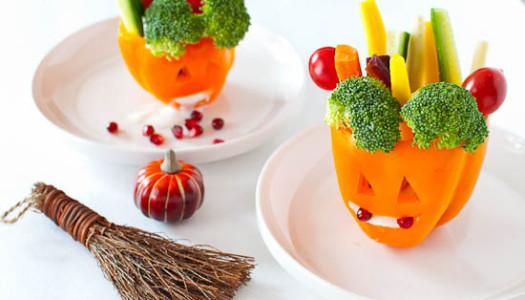 Halloween Jack O' Lanterns Peppers