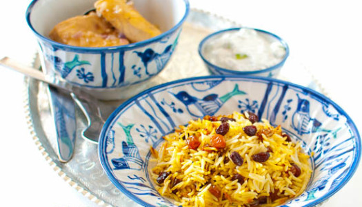 Keshmesh Polow ~ Persian Raisin Rice