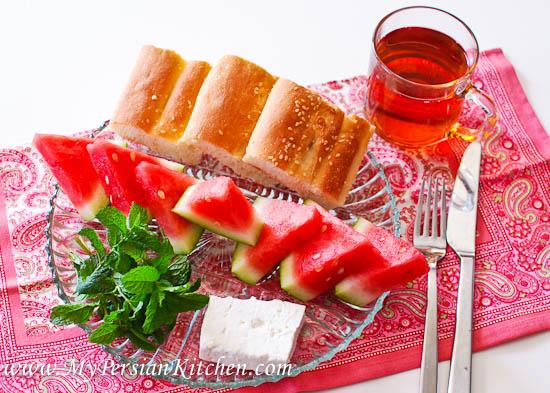 Watermelon & Feta Breakfast-2