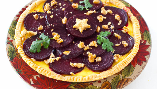 Beet & Feta Cheese Tart