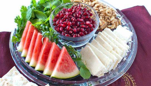 Iranian food blog archives my persian kitchen shabeh yalda appetizer platter forumfinder Gallery