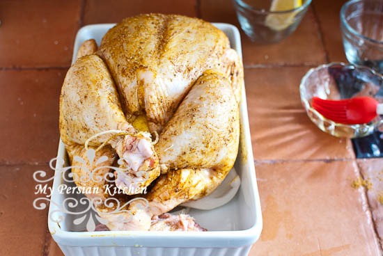 Roasted Chicken with Advieh-5